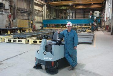 Veegzuigmachine Tomcat VR